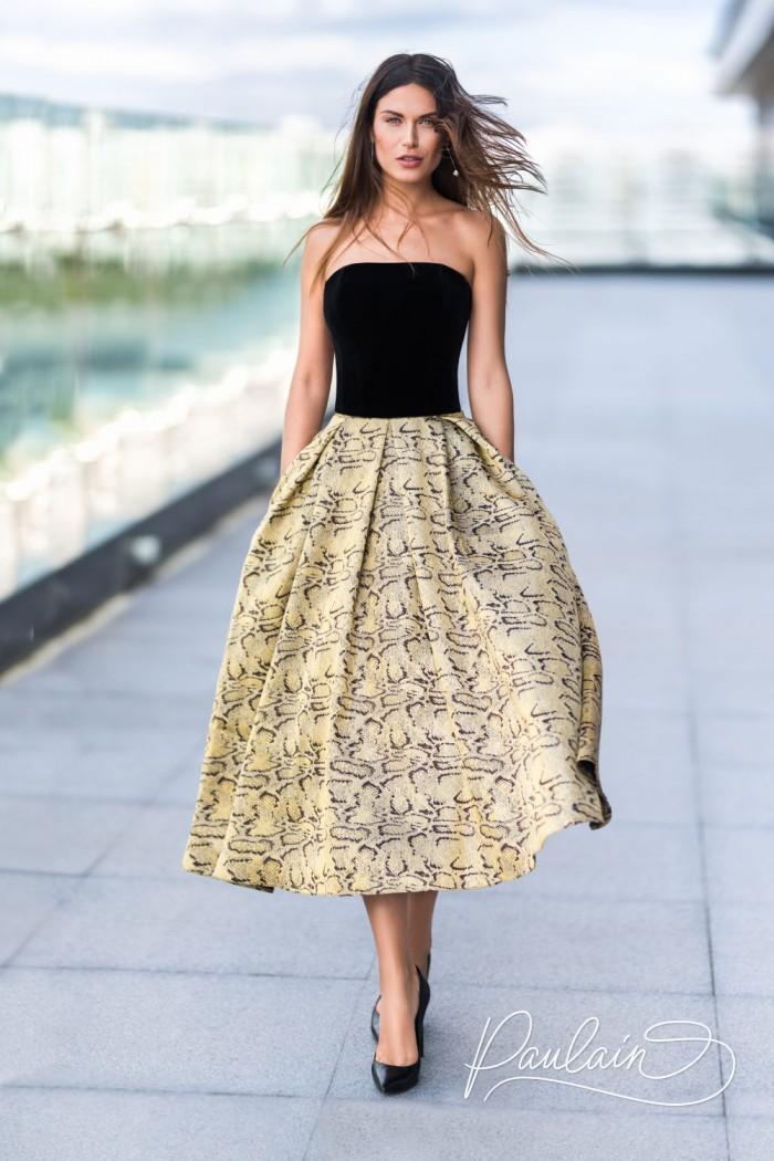 Авангардное вечернее платье - женственная модель в стиле вечных 1950-х - НАЙТ | Paulain