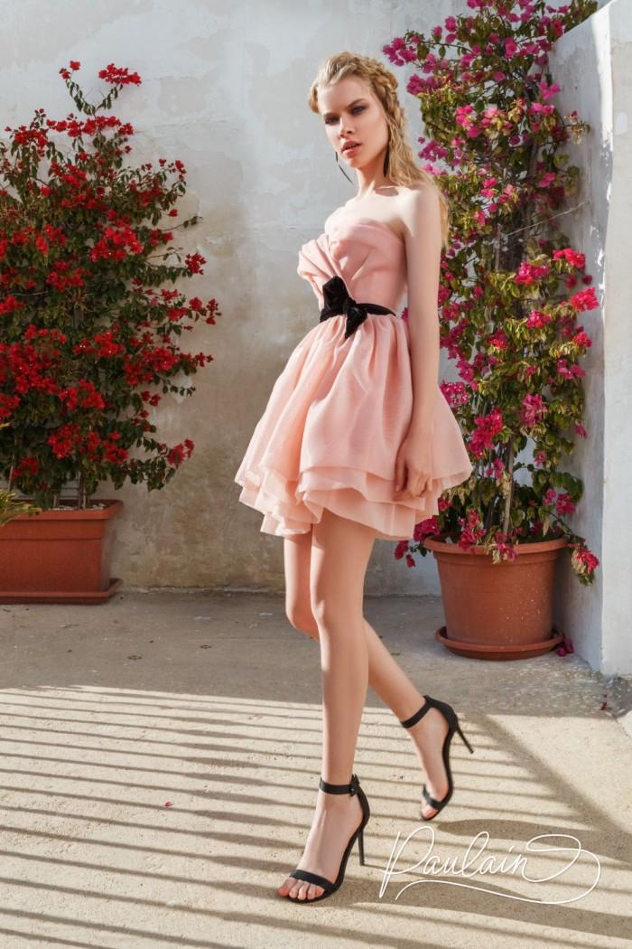 Романтичное вечернее платье с высокой линией талии - ПЕРВОЕ СВИДАНИЕ | Paulain