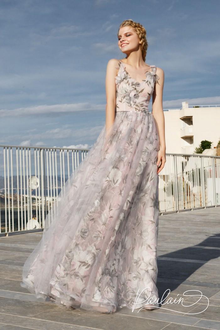 Невероятно нежное вечернее платье для чувственных натур - НЕЖНЫЙ ВОЗРАСТ | Paulain