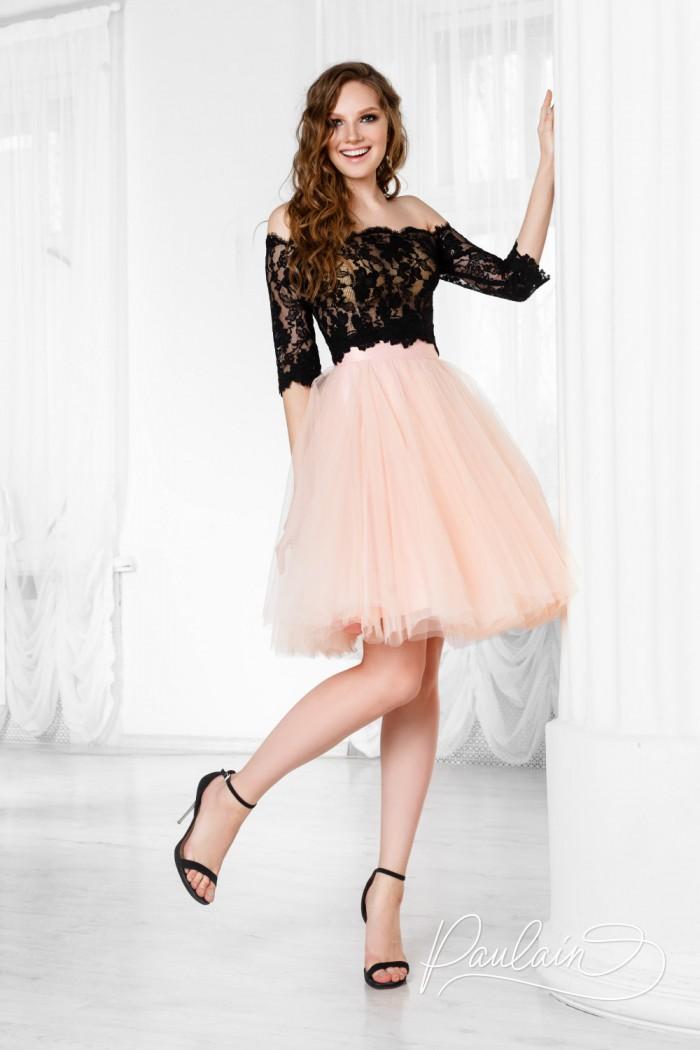 Кружевная блузка и короткая пышная юбка из фатина - ГАВАНА & ЛИЛИ | Paulain