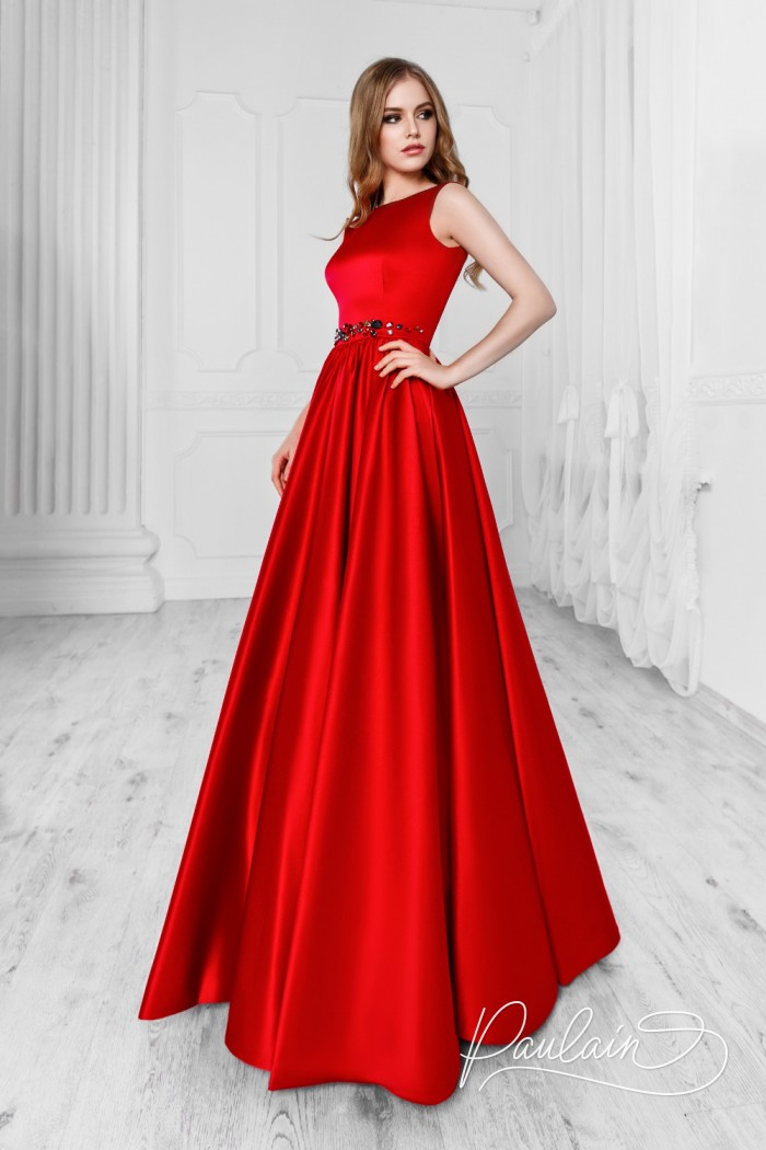 Лаконичное вечернее платье элегантного силуэта - СКАРЛЕТТ Уинд   Paulain